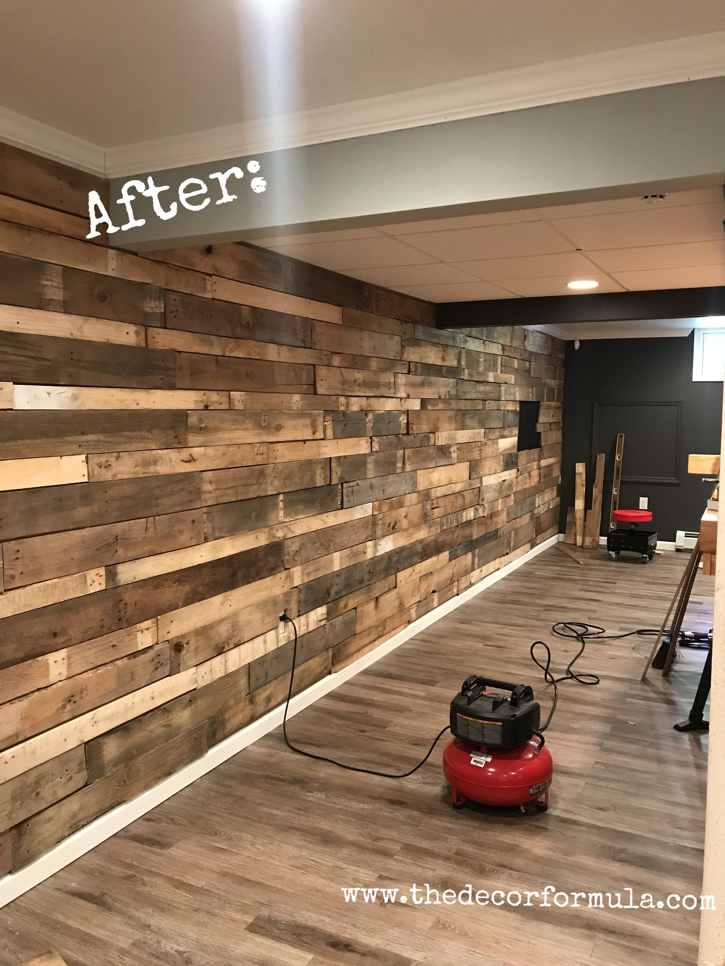Pin by Amy Parmley on Mac and me home Diy pallet wall
