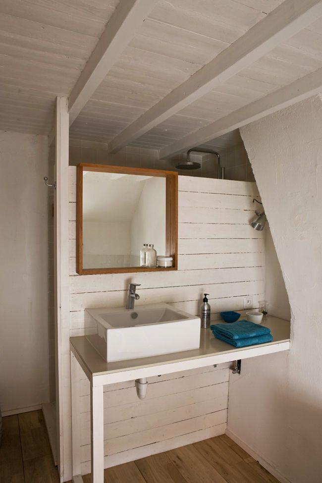 En archive Une petite salle de bains de bord de mer Salle de bain
