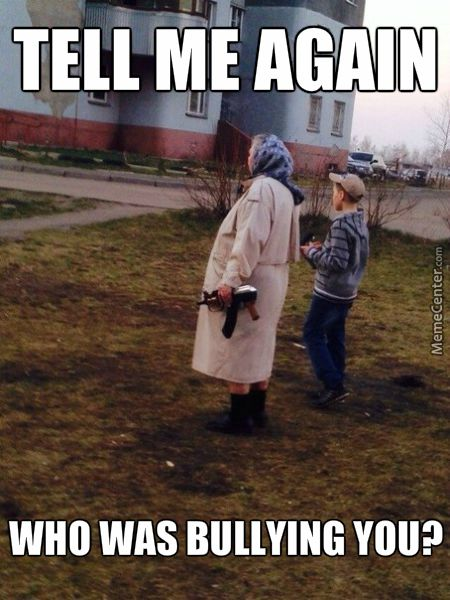 Right There, That Murican Fat Kid, Grandma | Memes