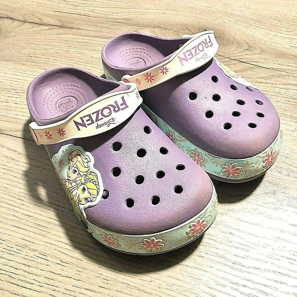Crocs Kids Frozen Clog Purple Size 13