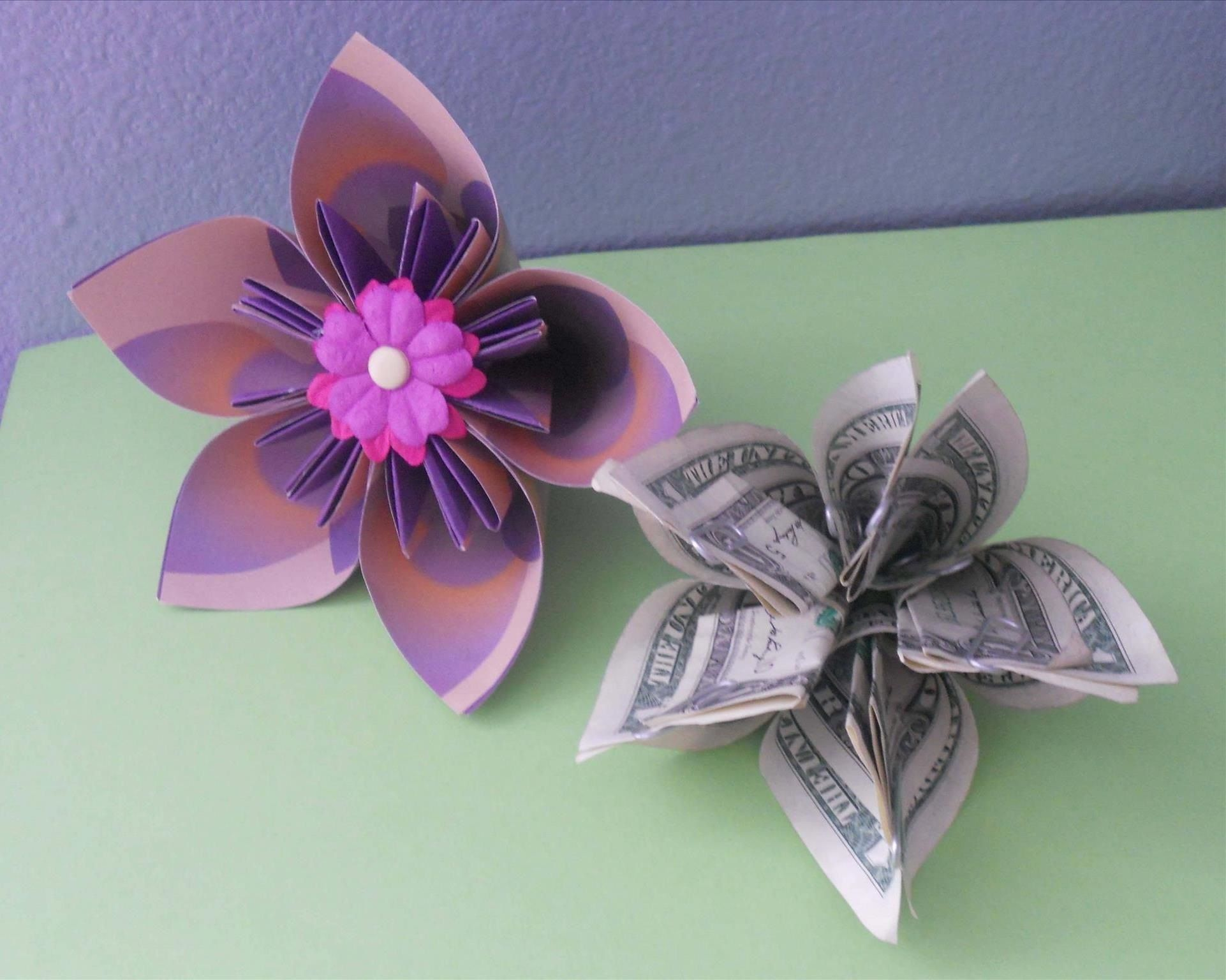 Money origami flower edition 10 different ways to fold a dollar money origami flower edition 10 different ways to fold a dollar bill into a mightylinksfo