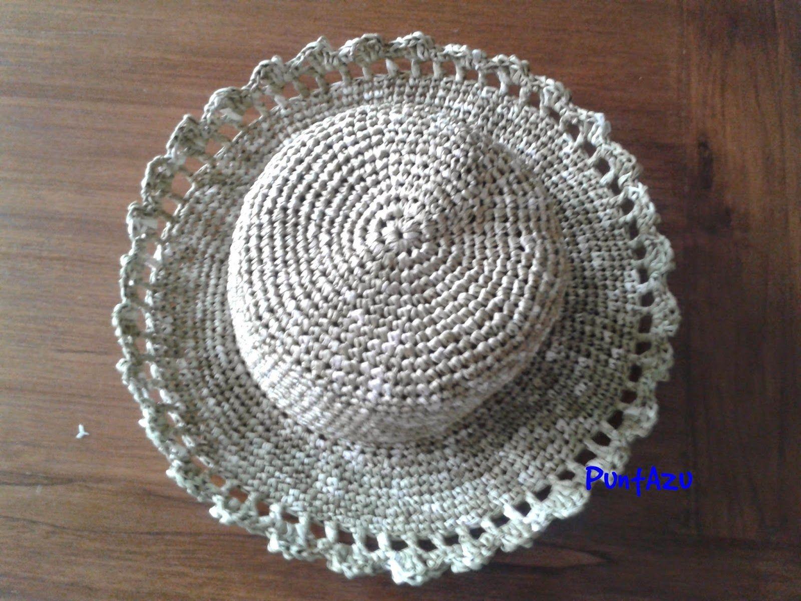 Sombrero Crochet fácil. Patron gratis | crochet | Pinterest ...