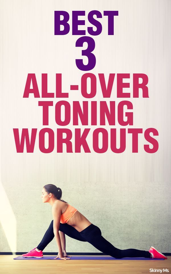 Best 3 All-Over Toning Workouts