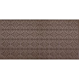 Dimensions Bronze Faux Tin Surface-Mount Ceiling Tile (Common: 48-in x 24-in; Actual: 48.5-in x 24.5-in)