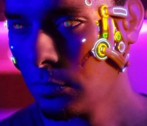 Future, Futuristic, Cyberpunk, True Skin, cyber, Cyborg, Stephan Zlotescu, Future Bangkok, implant, Augmented Reality, neon, future life by FuturisticNews.com