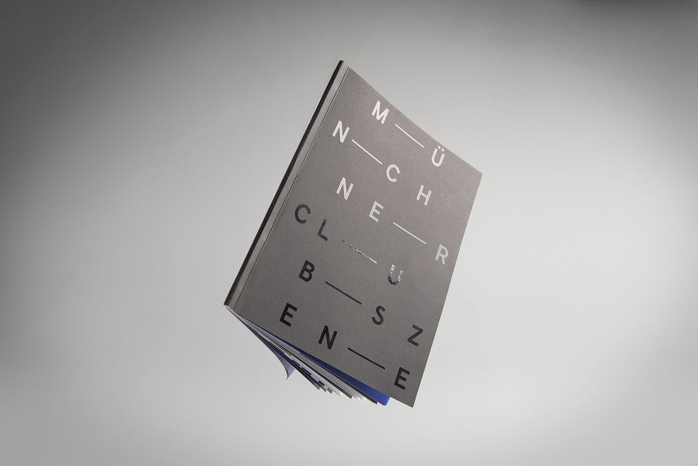 Die Typografie der Münchner Clubszene on Behance