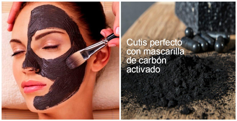 Mascarillas Y Beneficios Del Carbón Activado Para La Piel Belleza Y Peinados Mascarilla Carbon Activado Carbon Activado Carbon Activado De Coco