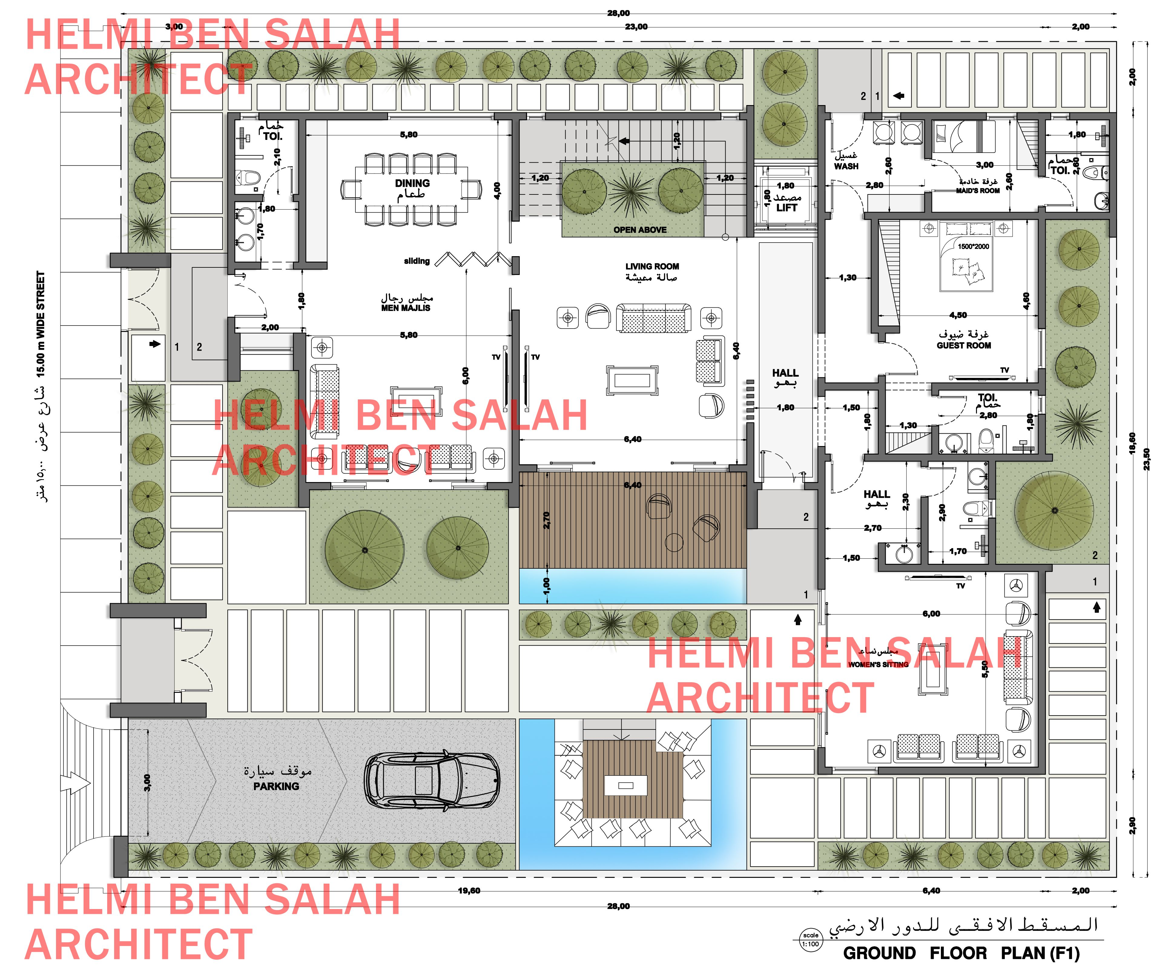 Helmi Ben Salah Architect Architecture Plan How To Plan Architect
