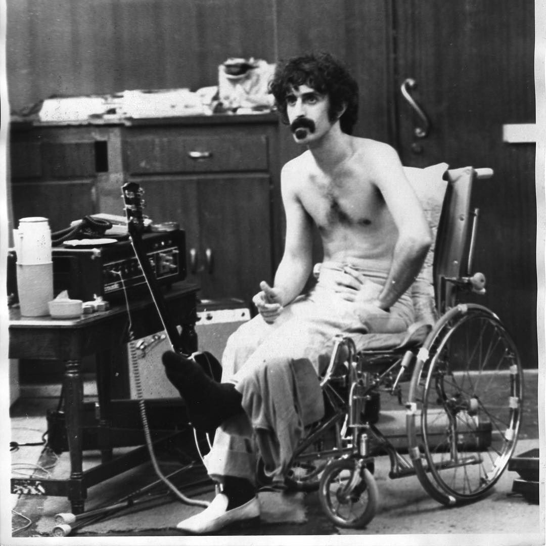 Frank Zappa On Instagram 10th December 1971 Playing The First