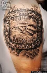 Tatuajes Mexico echo en mexico   stuff i lik3   pinterest   tatuaje azteca, tatuaje
