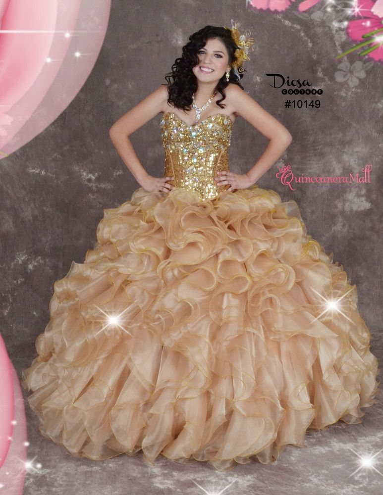 77b4a543f94 Quinceanera Dress  10149QM  quinceaneramall  diosacollection