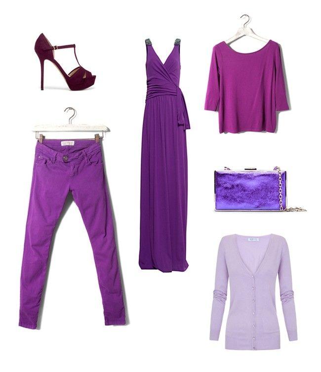 El color violeta se impone esta primavera 2012 en todo tipo de ...