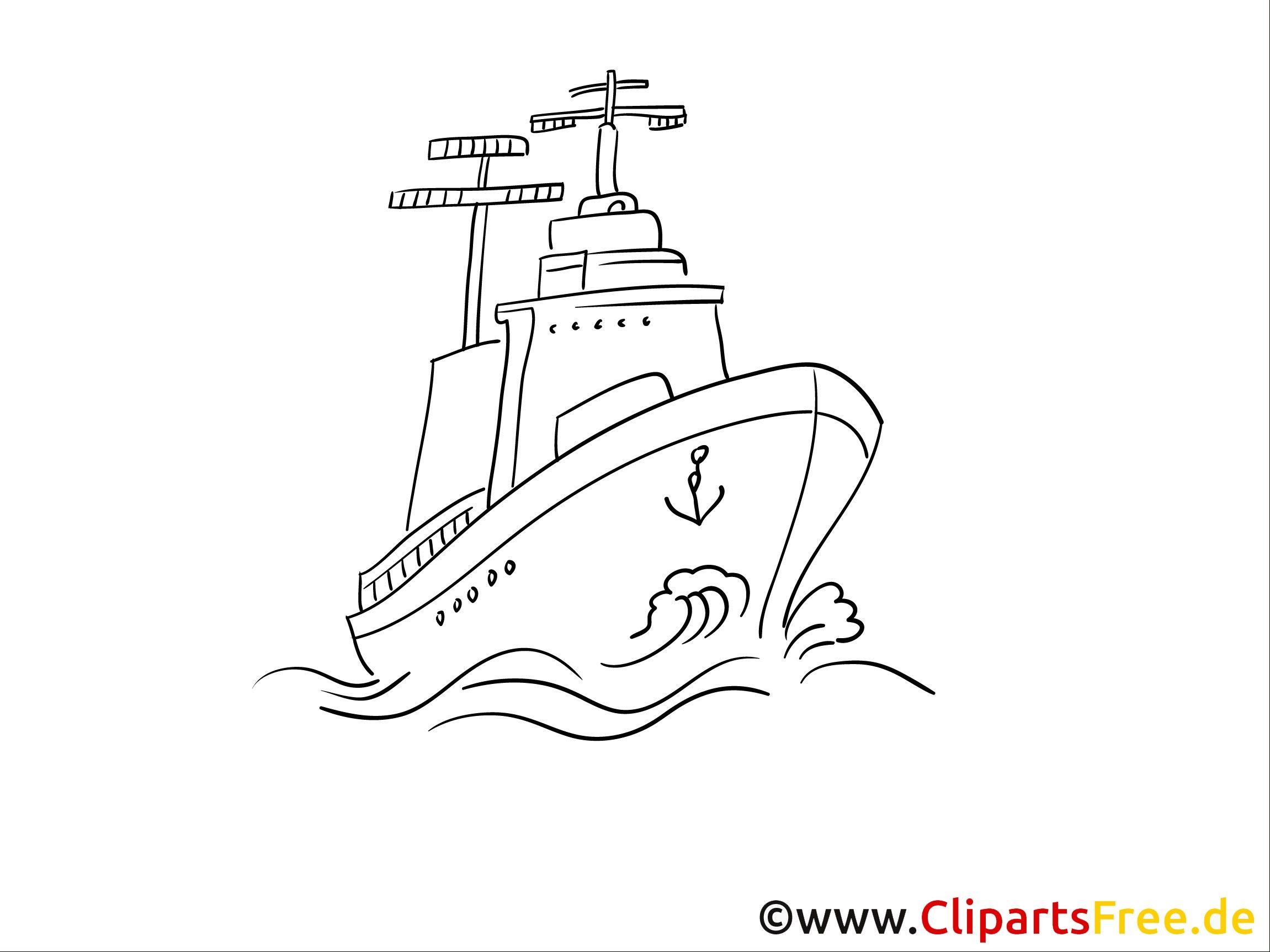 ausmalbilder schiff