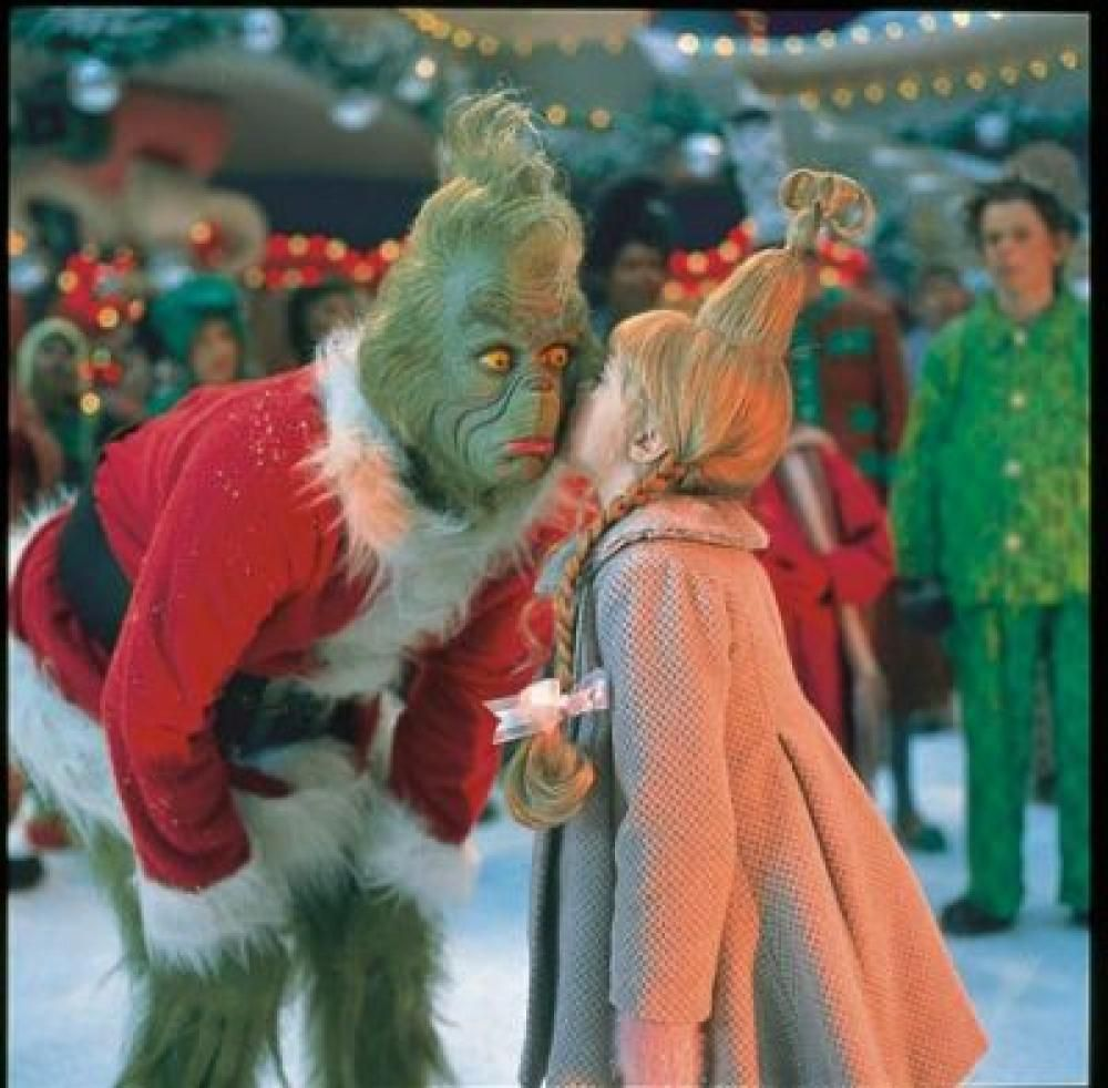Behind The Scenes Of How The Grinch Stole Christmas  How -7727