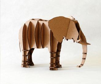 We Have Always New اشكال الحيوانات من الكرتون Cardboard Art Sculpture Cardboard Sculpture Cardboard Art