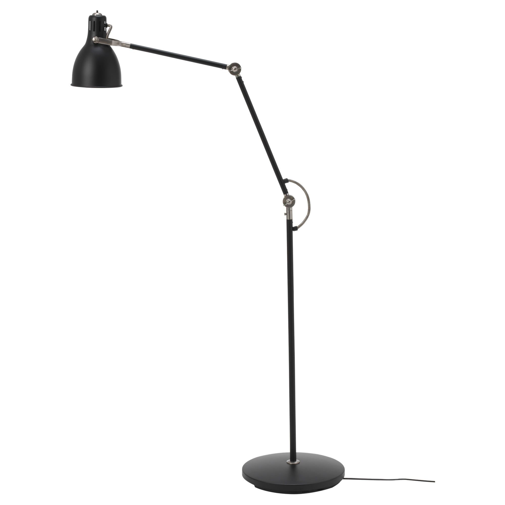 Arod Floor Reading Lamp Dark Grey Anthracite Ikea Reading Lamp Floor Reading Lamp Ikea Floor Lamp