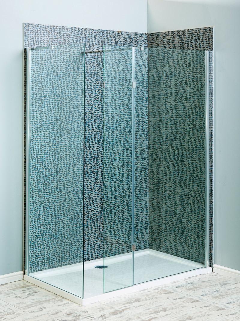Milano Beka Recess Walk In 8mm Shower Enclosure 1200x800 - 1200x800 ...