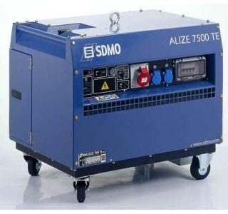 Groupe Electrogene Sdmo Alizee 7500 Te Essence Insonorise 380v 5 6kw