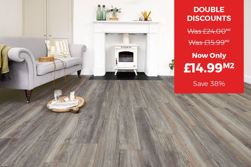 Series Woods Professional 10mm Laminate Flooring Harbour Grey Oak Laminate Flooring Grey Oak Flooring
