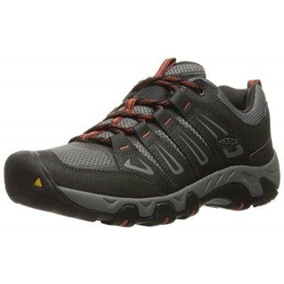 KEEN Men's Oakridge Shoe, Raven/Burnt Ochre, ...