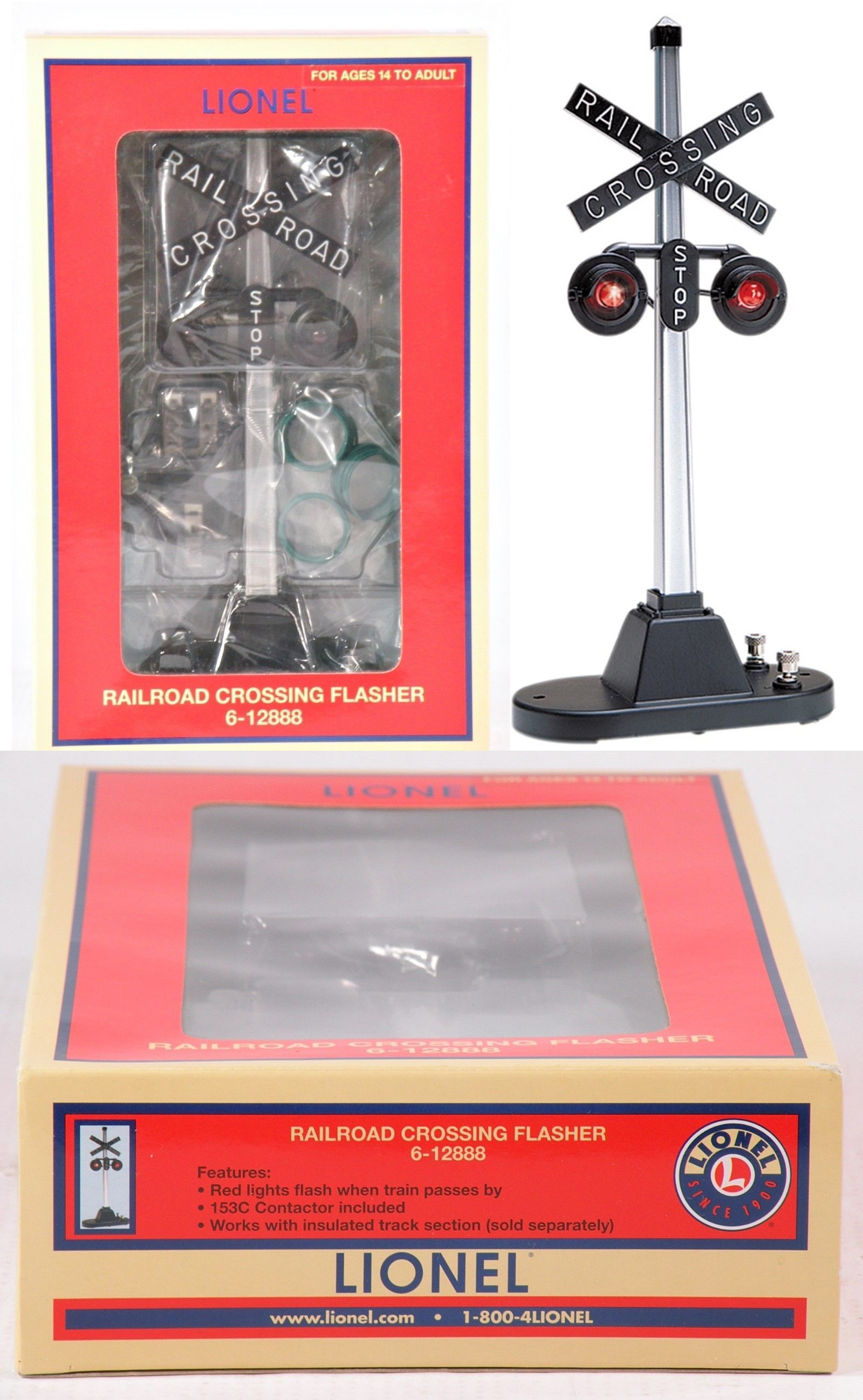 small resolution of signals 81051 lionel 6 12888 railroad crossing flasher 154 c9 buy it now only 51 on ebay signals lionel railroad crossing flasher