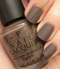The OPI Matte Collection Features Some Of Classic Nail Polish Colors In A Finish Gives You Opti