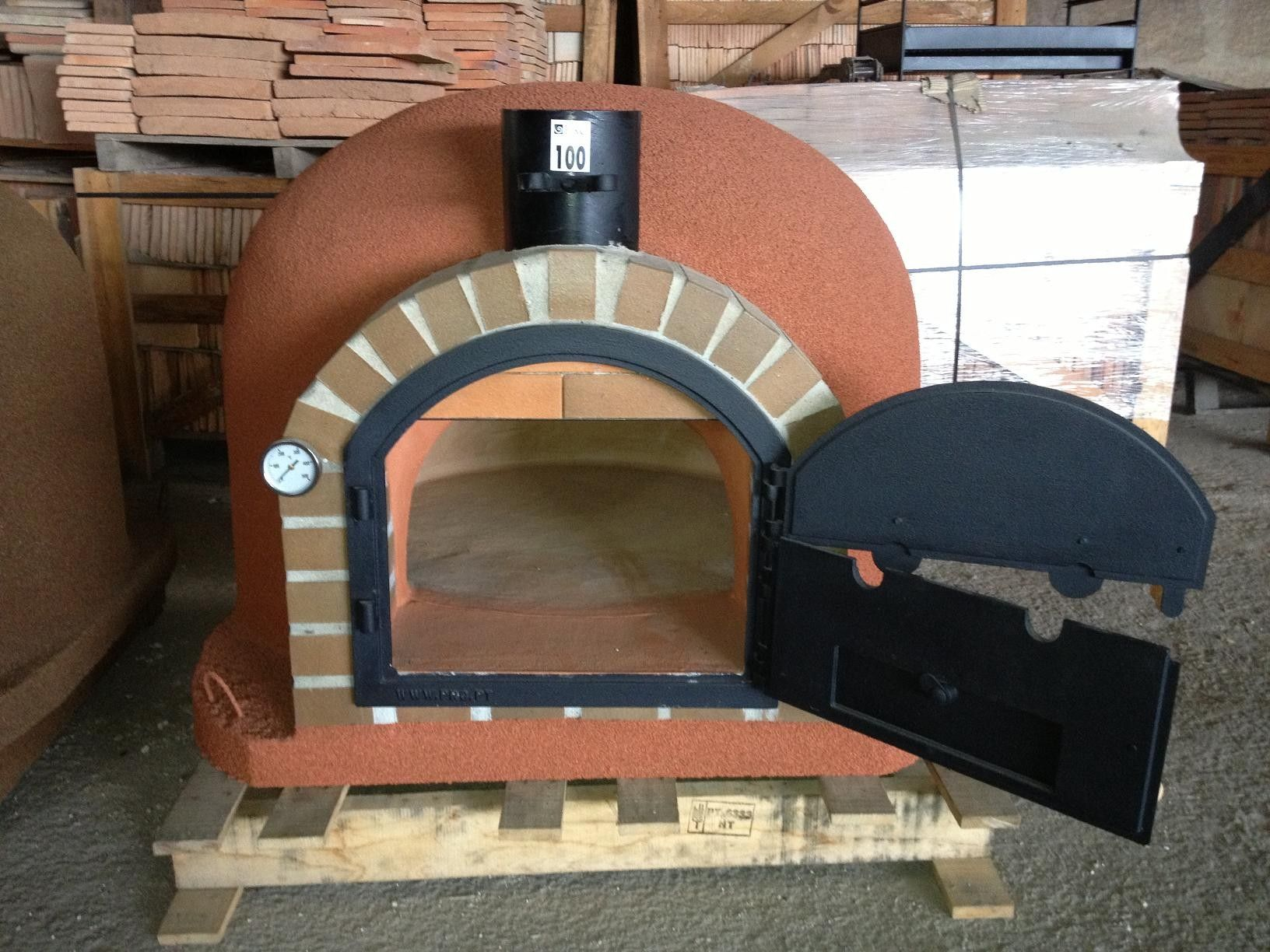 Clay Brick Pizza Ovens : Clay and brick ovens insulated wood fired pizza
