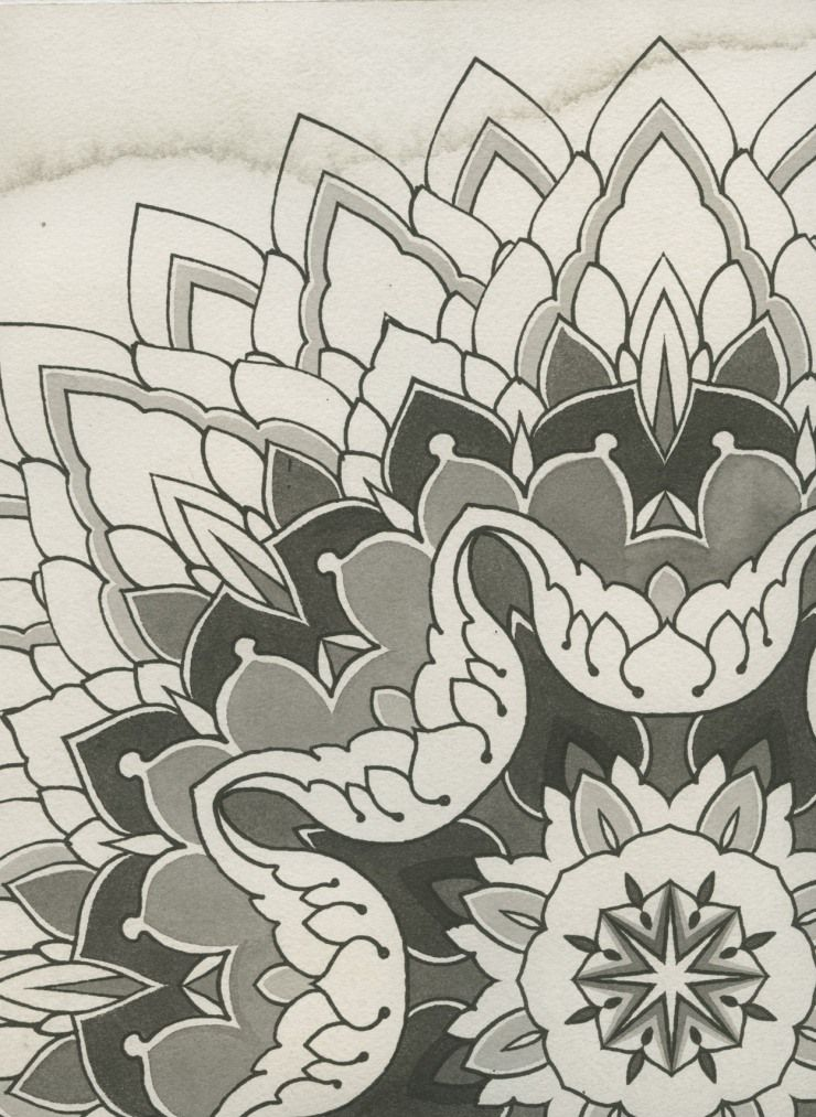 9abf4f49d35ed Krakow mandala by Thomas Hooper | Mandala | Mandala tattoo, Chakra ...