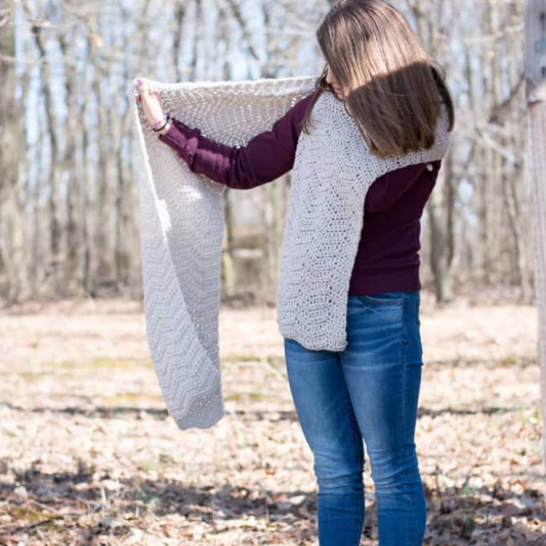 Photo of Crochet Wrap Pattern Free