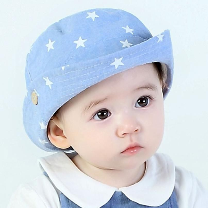 a017583b3dea5 Click to Buy    MUQGEW Hat Kids Star printing Summer Cute Casual Five