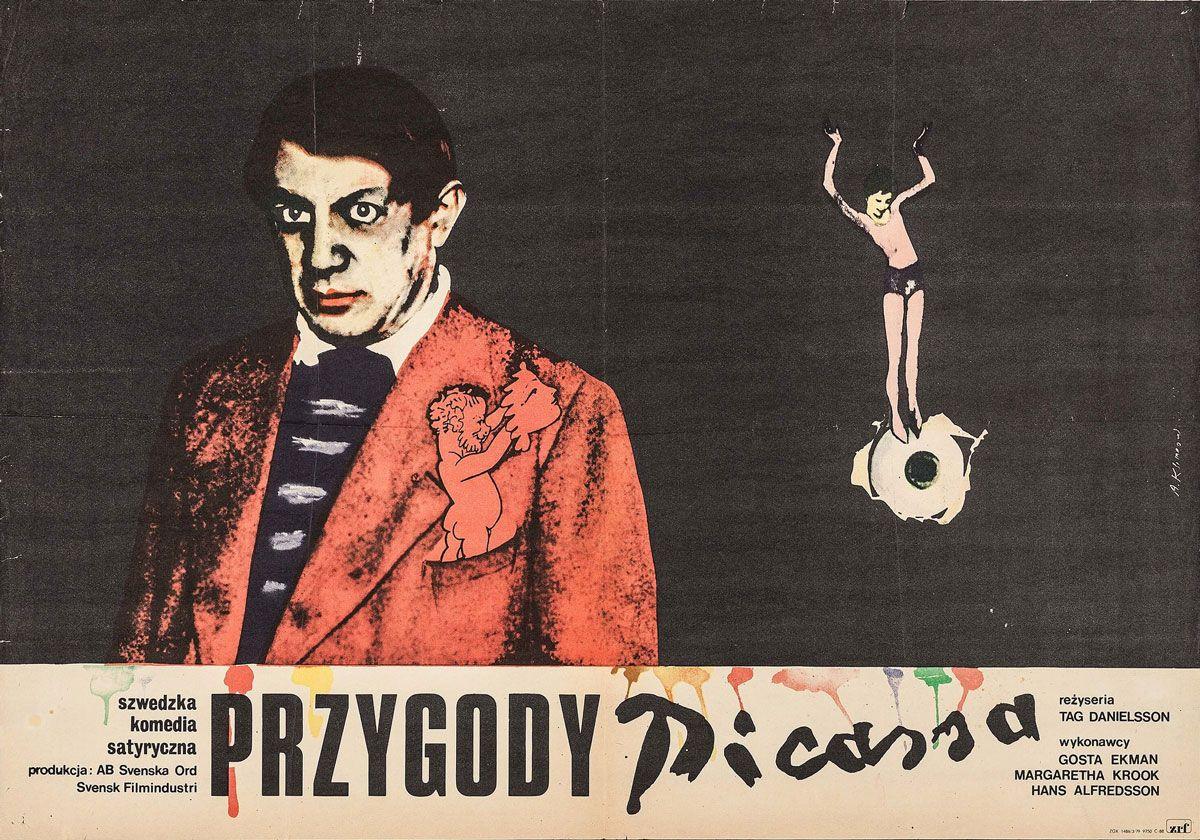 Andrzej Klimowski The Adventures Of Picasso Tage Danielsson Sweden 1978 Med Bilder Aventyr