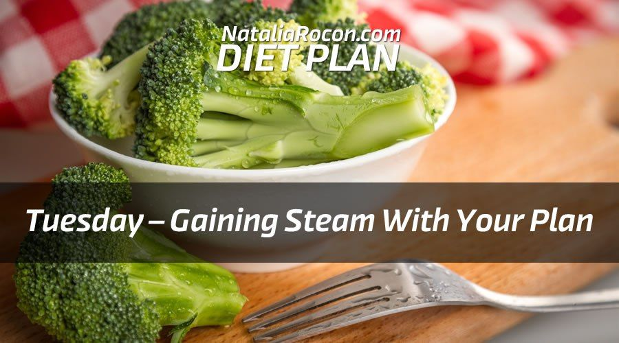 Natalia Rocon Diet Plan: Tuesday – Gaining Steam With Your Plan