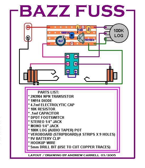 2n3904 Bazz Fuzz Buscar Con Google Diy Guitar Pedal Guitar Pedals Guitar Diy