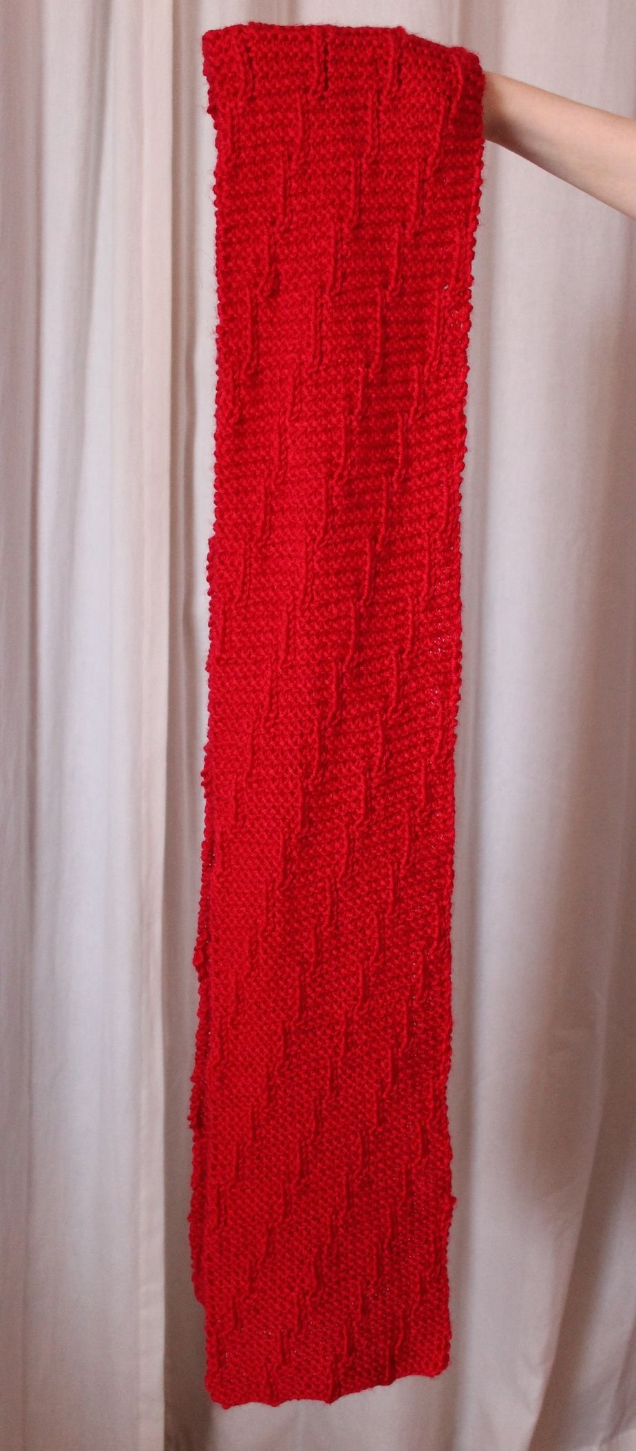 Free Pattern Friday: The Latest for the Red Scarf Project! — KnitOasis