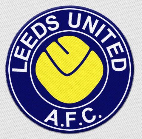 The Bordered Lufc Smiley Badge In 2020 Leeds United Leeds United Football Leeds