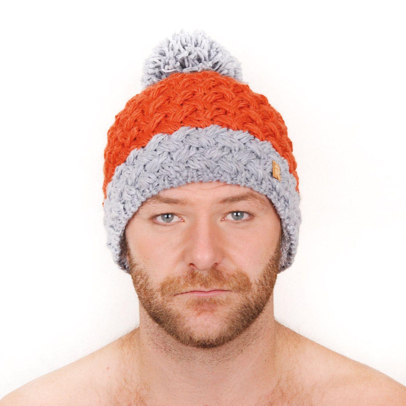 d0b2b15783 modele tricot bonnet a pompon homme ...