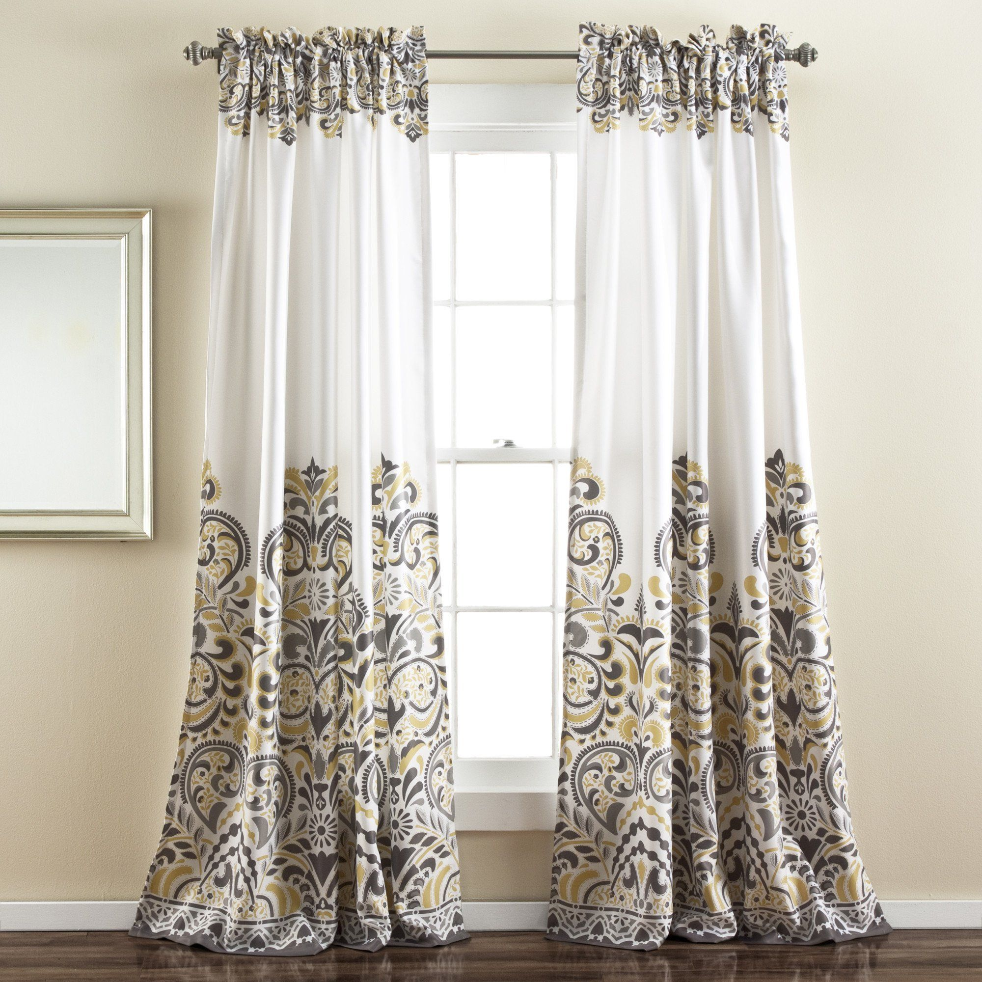 Clara Room Darkening Window Panel Set Drapes Curtains Panel