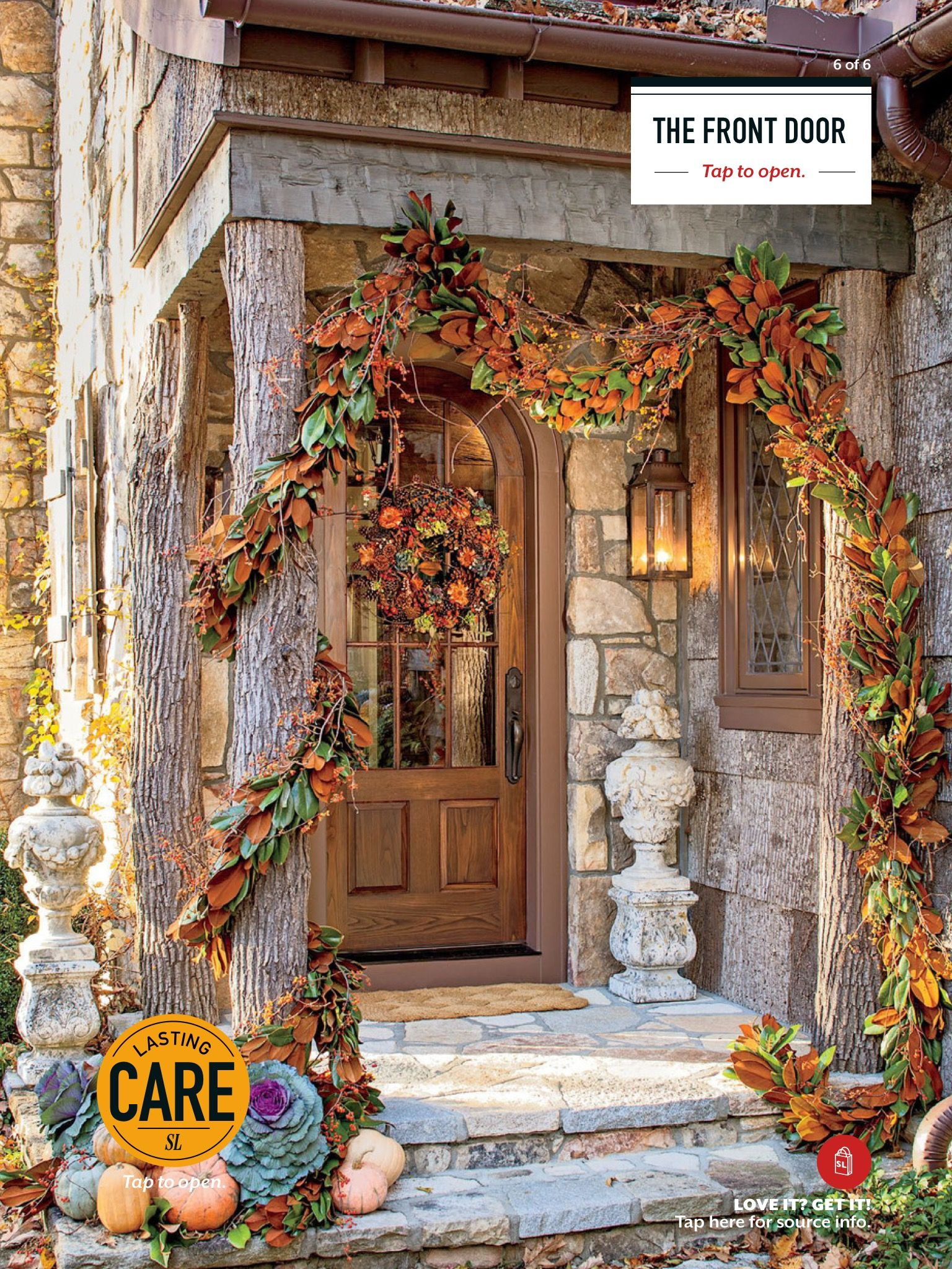 Front door fall decorating ideas. | Home and Decor ...