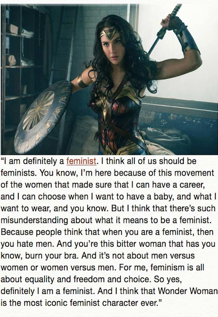 Inspiring Quotes About Wonder Woman From The Women Who Played Her Wonder Woman Wonder Gal Gadot