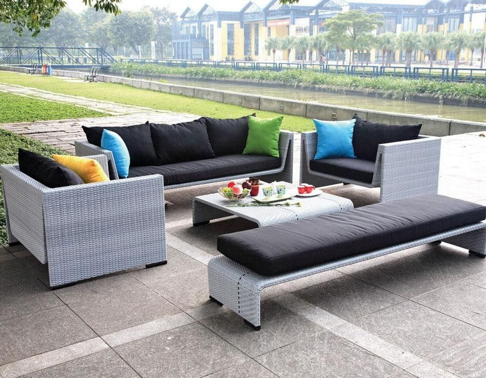 Loui Modern Outdoor Tosh Furniture Gray Sofa Set Home Pinterest