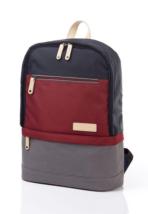 Samsonite RED Allena backpack in burgundy Red Backpack 47253f0e79