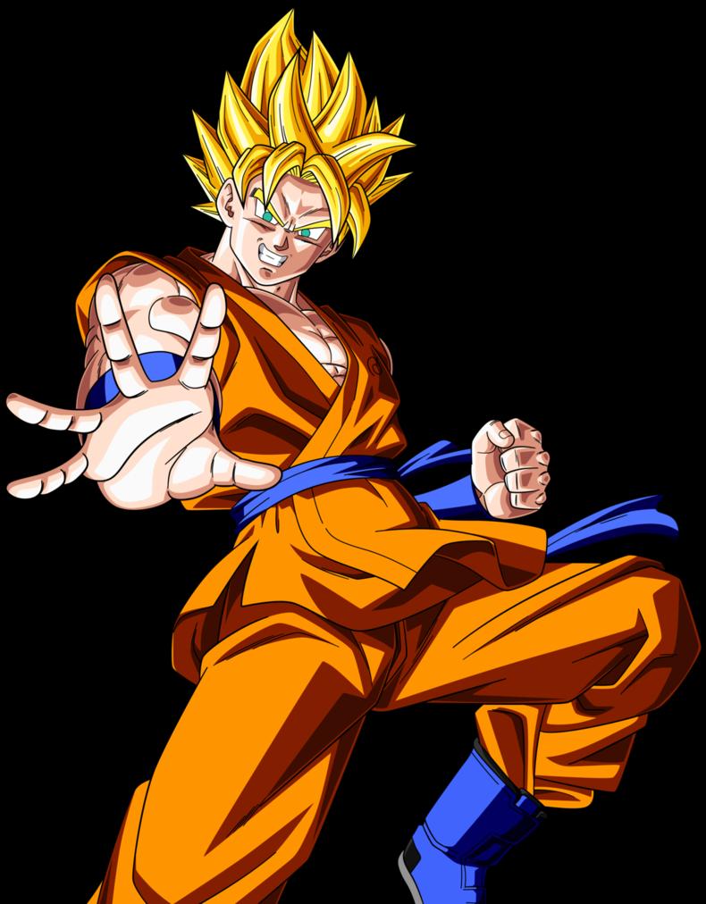 Super Saiyan Goku Fukkatsu No F 2 By Rayzorblade189 D9qk98m Png 790 1012 Goku Super Saiyan Super Saiyan Goku Saiyan