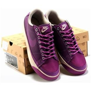 Women Nike Wmns Blazer Low Purple Shoes | Nike basketball