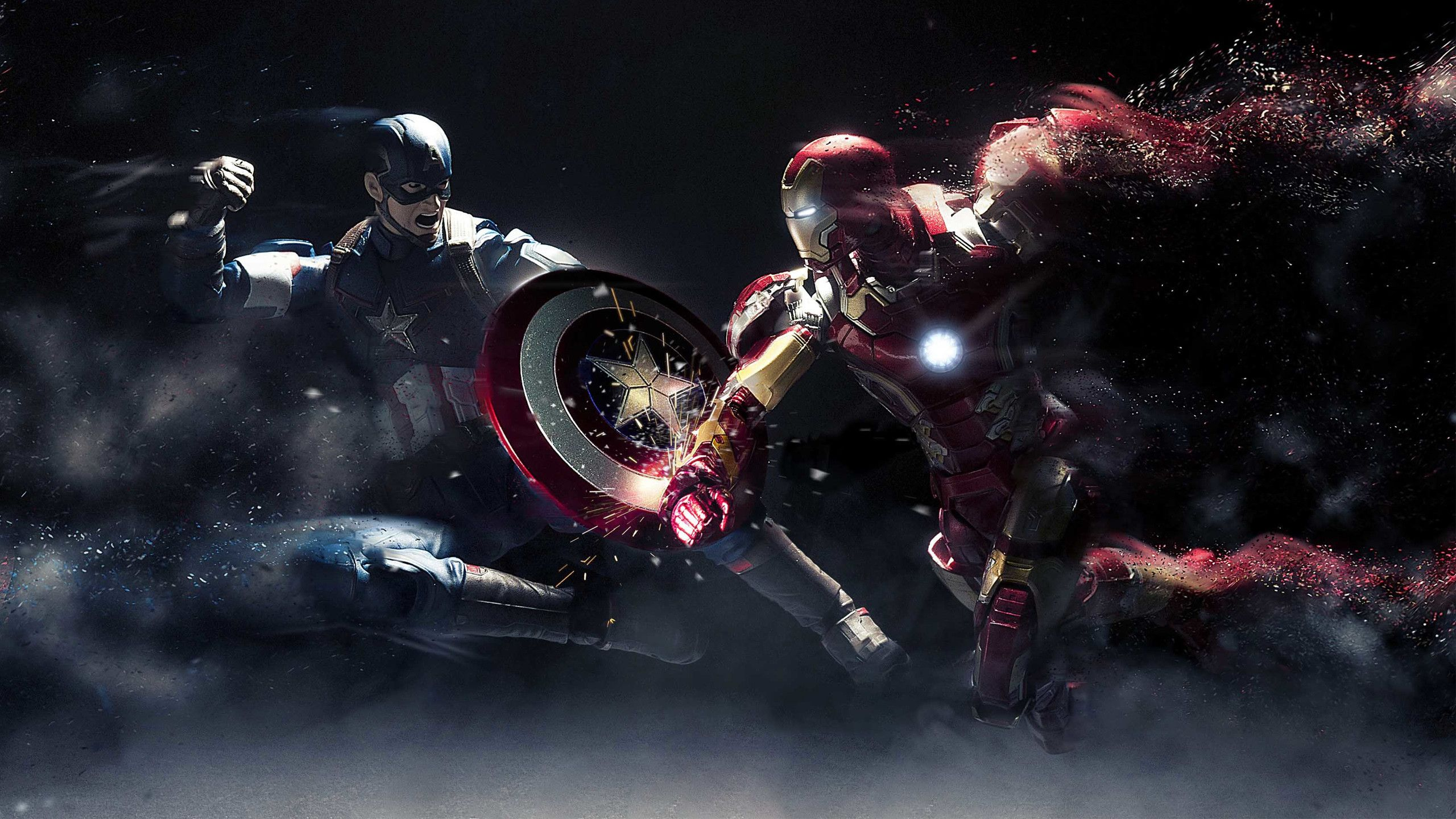 2560x1440 Captain America Civil War 2016 Wallpapers Ultra Hd For