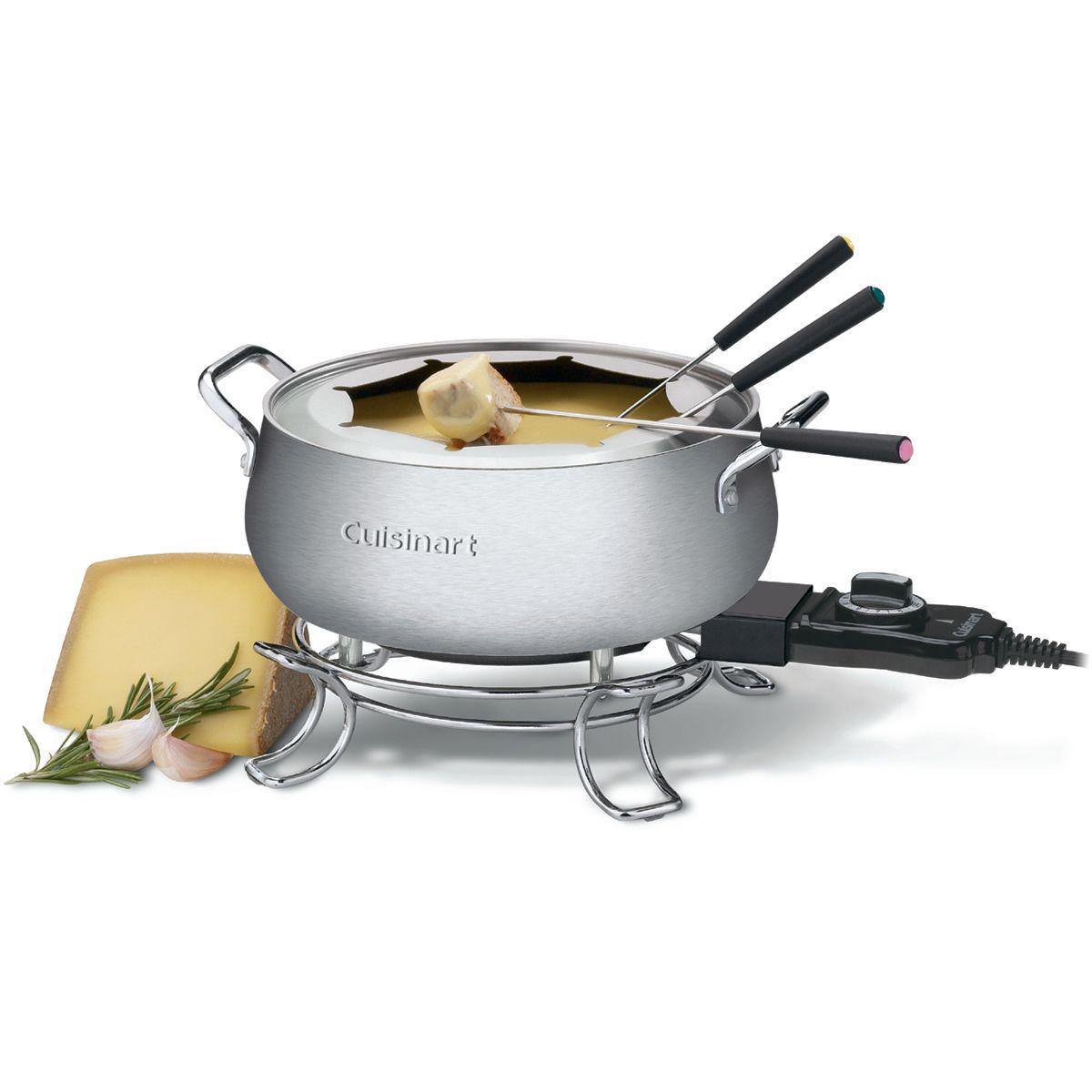 Cuisinart canada cuisinart electric fondue pot cfo3ssc