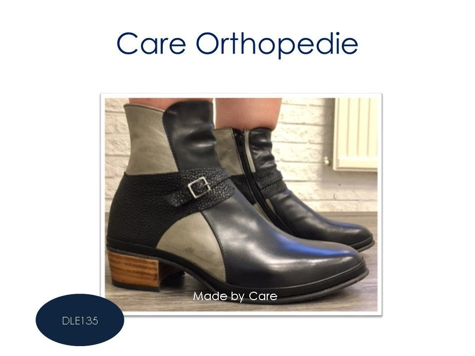 Dames enkellaarsjes Care Orthopedie in 2020 | Schoenen