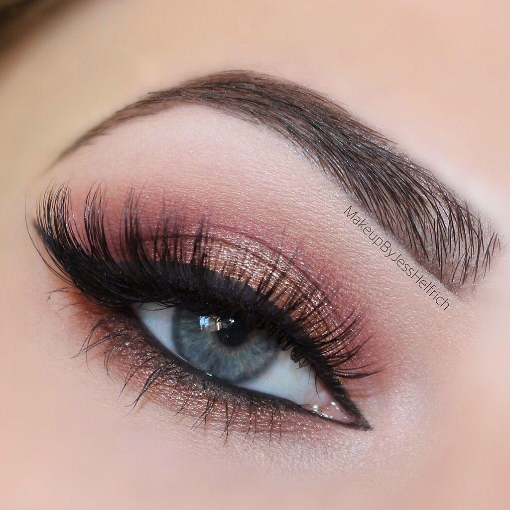 Rose gold smokey eye – Idea Gallery - Makeup Geek