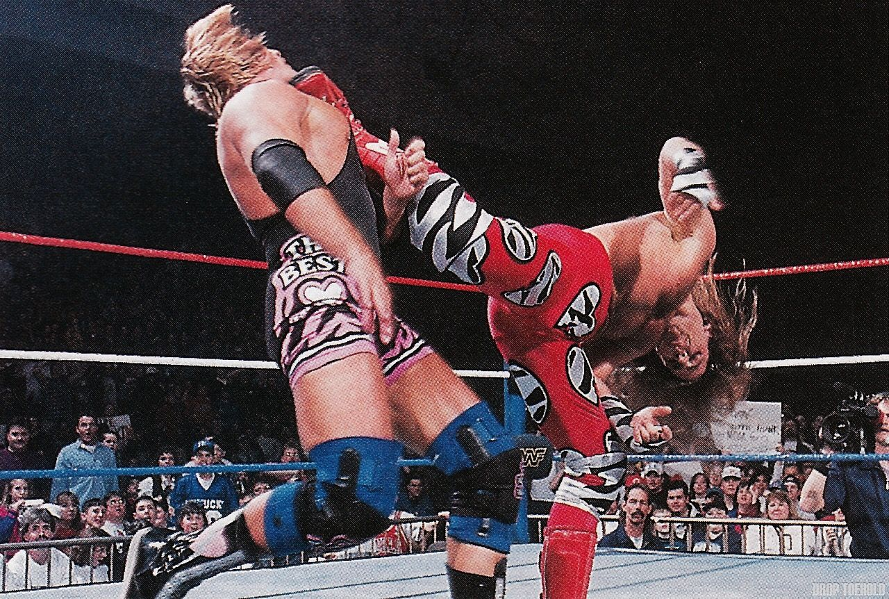 Sweet Chin Music Shawn Michaels Vs Owen Hart With Images