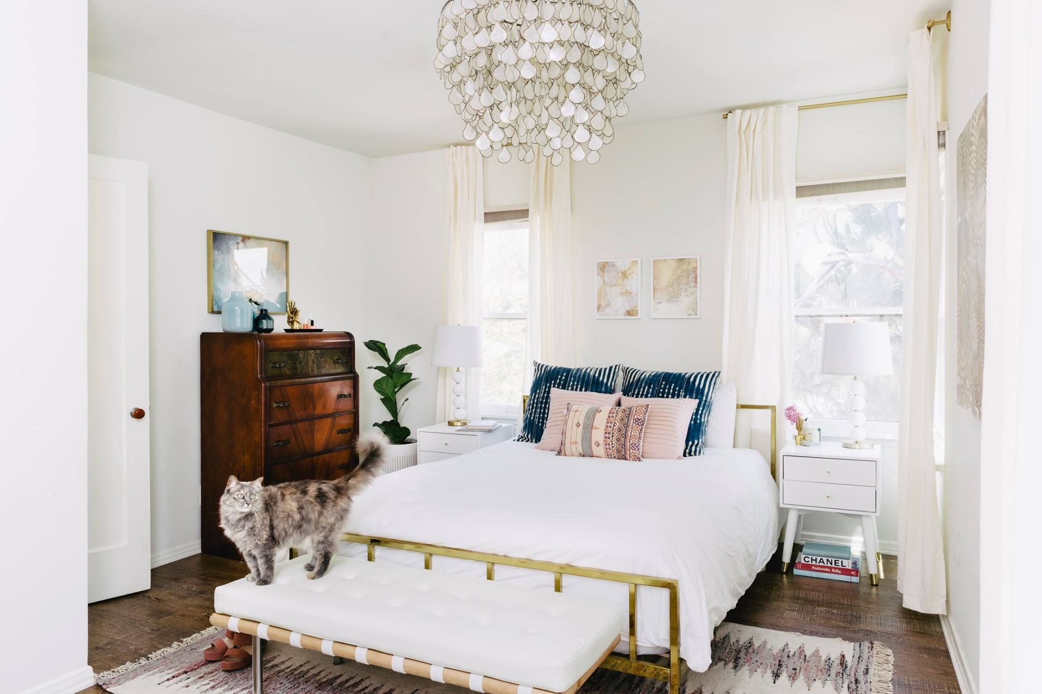 Jordan Interiors Home Decor Luxurious Bedrooms Modern Feminine Bedroom Boho glam bedroom ideas