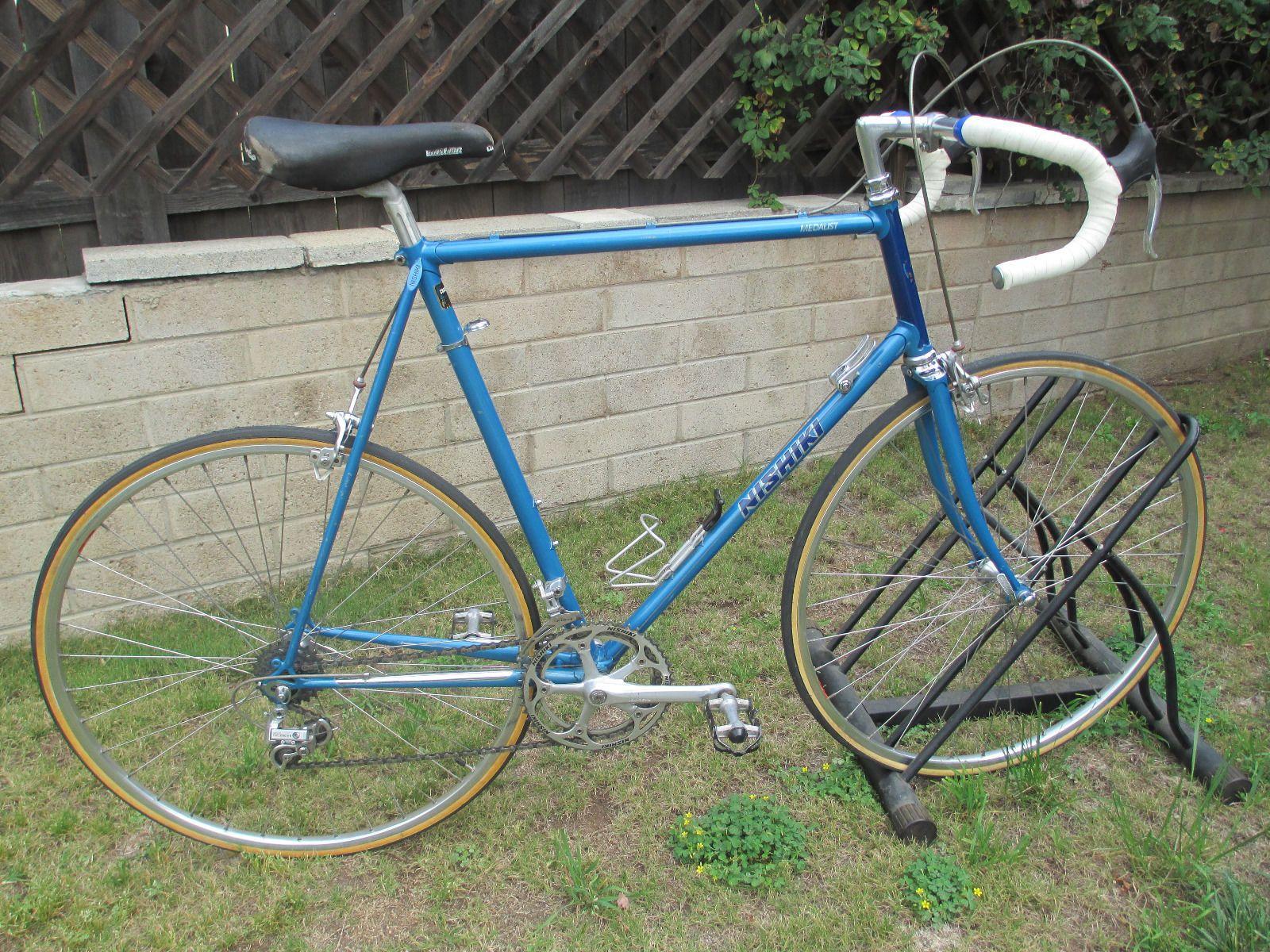 Vintage Rare Nishiki Medalist Road Bike Cycling And Bicycling
